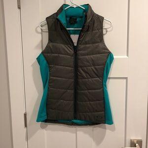 Oakley vest color teal/gray